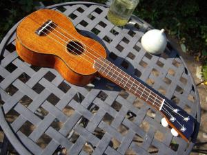 Built from a kit by Pete Howlett-Cuban Mahogany