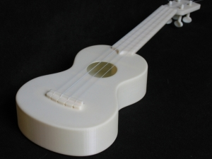 Print Your Own Ukulele Or Parts