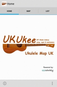 Ukulele Map App UK V1.0